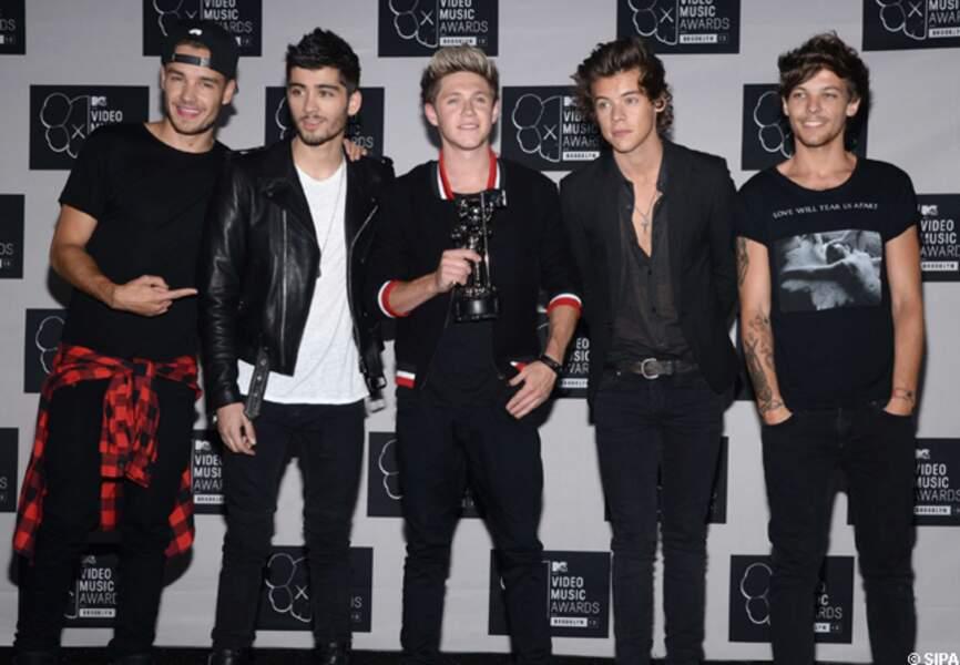 One Direction a reçu un prix