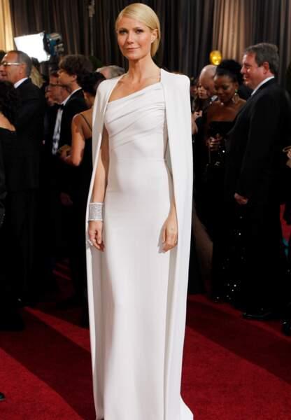 Gwyneth Paltrow aux Oscars en 2012 habillée par Tom Ford