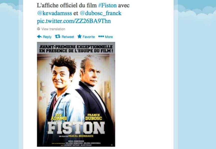 Kev Adams et Franck Dubosc sont déjà d'attaque pour la promo de leur film Fiston