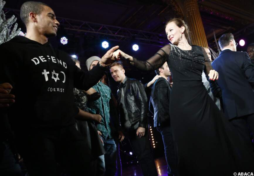 Brahim Zaibat fait danser la première dame