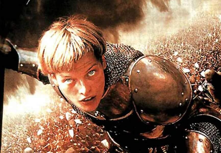Milla Jovovich en Jeanne d'Arc (Jeanne d'Arc de Luc Besson, 1999)