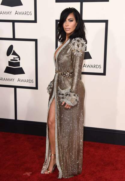 Kim Kardashian en Jean Paul Gaultier Couture