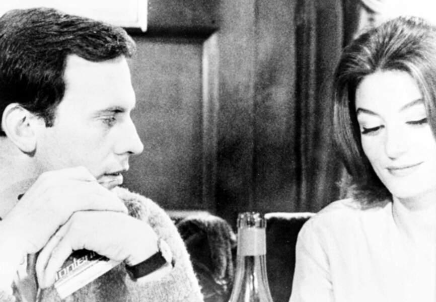 Un homme et une femme avec Anouk Aimée, 1966