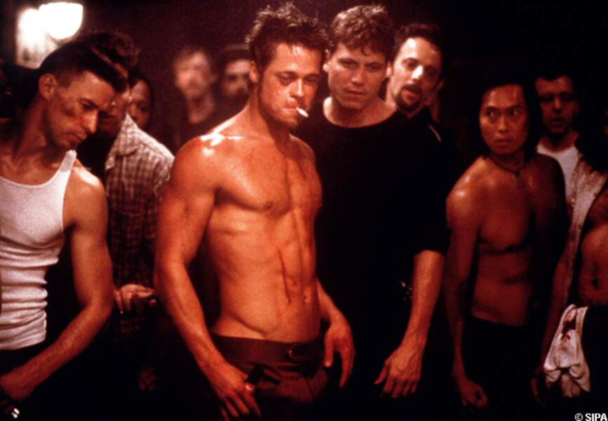 Brad Pitt dans Fight Club en 1999
