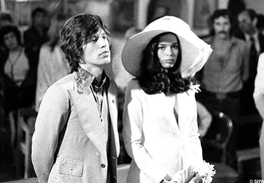 Mick Jagger épouse Bianca à Saint-Tropez