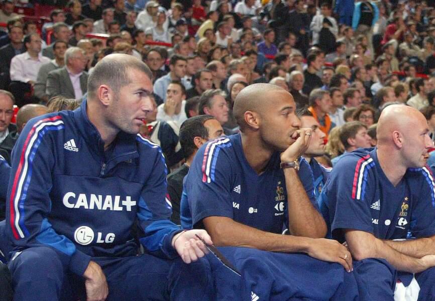 Zidane Henry Barthez…