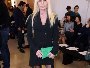 Fashion Week : Elodie Bouchez, Donatella Versace... déjà au premier rang