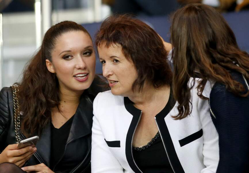 Anne Roumanoff et sa fille
