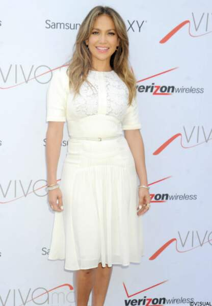 Vendredi 27 juillet, J-Lo a inauguré sa première boutique, à Brooklyn, New-York