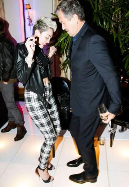 Pas de danse avec Miley Cyrus