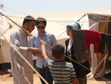 Gael Garcia Bernal au chevet de réfugiés syriens