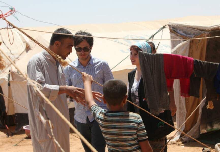 Visite d'un campement au Sud d'Amman en Jordanie