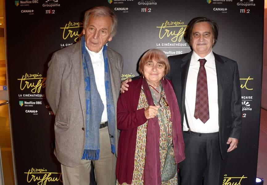 Costa-Gavras, Agnès Varda et Jean-Pierre Léaud