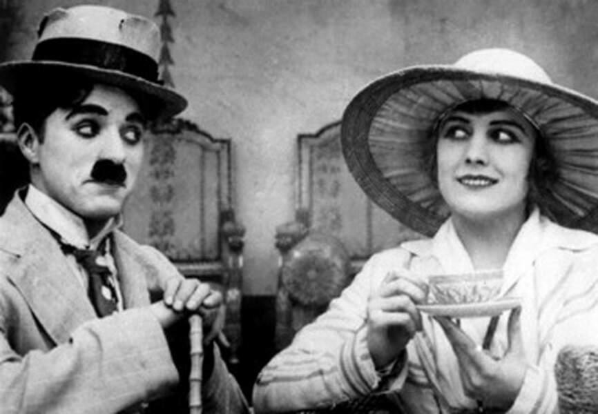 Charlot fait en cure 1917