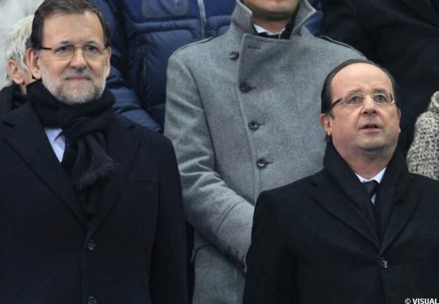 Mariano Rajoy et François Hollande