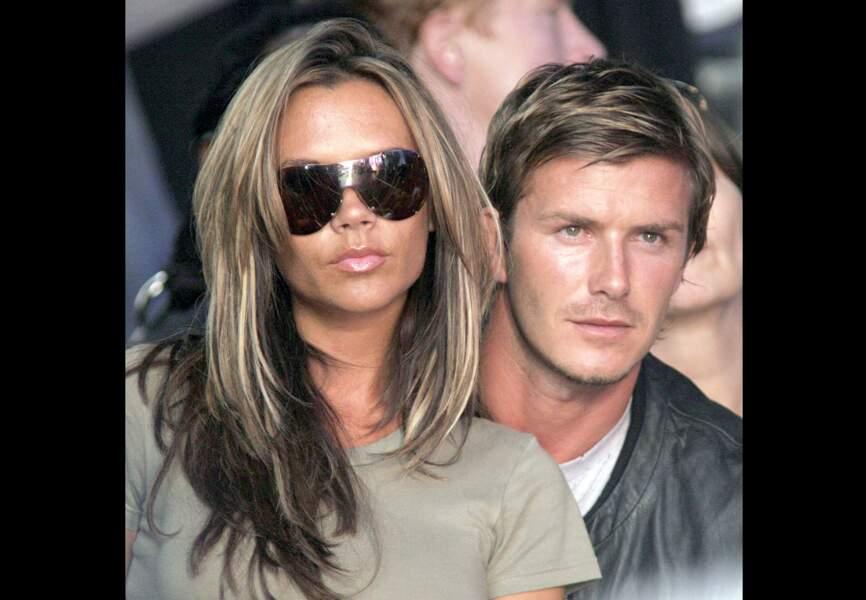 Victoria et David Beckham, le couple star du football (2005)