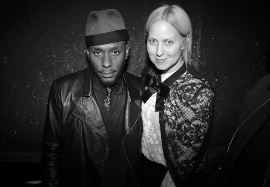 Mos-Def et Julie Favre
