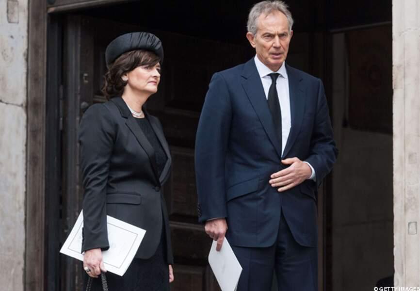 Cherie Blair et Tony Blair