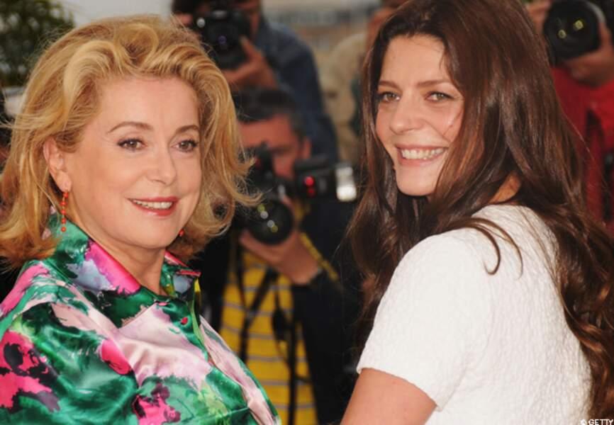 Catherine et Chiara en 2008