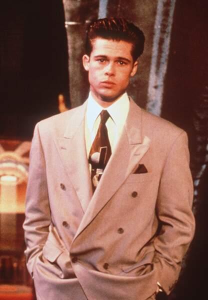 Brad Pitt à ses débuts