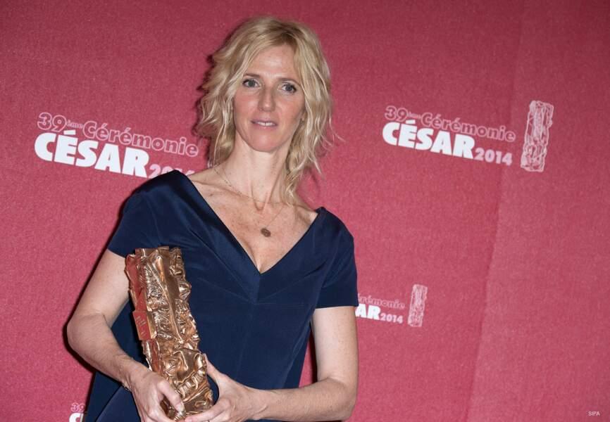 Sandrine Kiberlain, césar de la Meilleure actrice pour 9 mois ferme