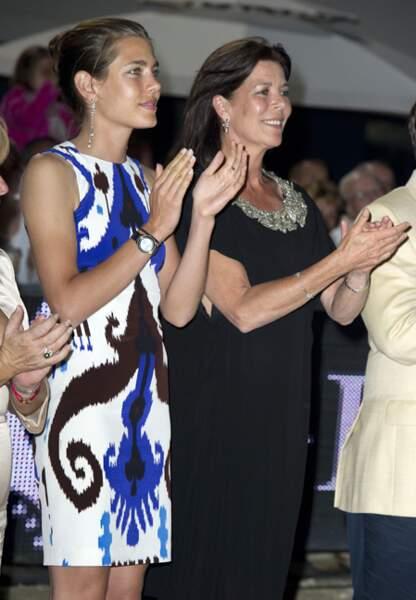 En juin 2010 les deux femmes rivalisent de superbe