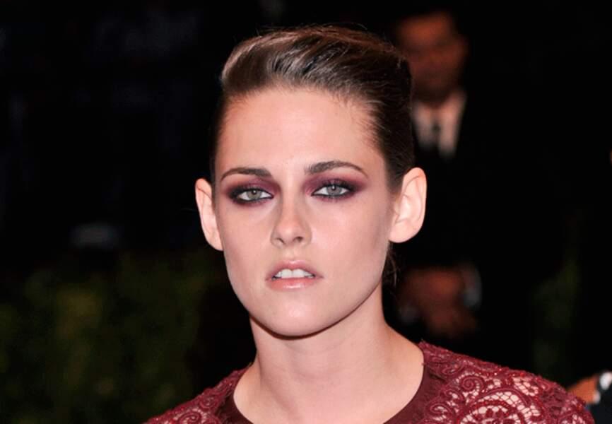 L'actrice assortie son make-up à sa tenue