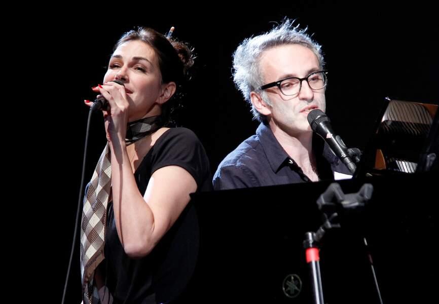 Héléna Noguerra et Vincent Delerm