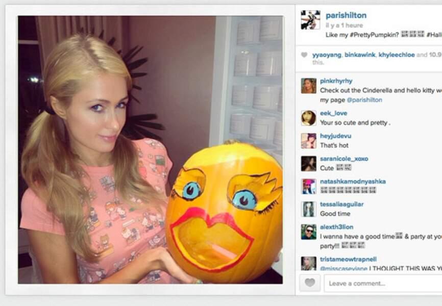 Paris Hilton est déjà fin prête pour Halloween