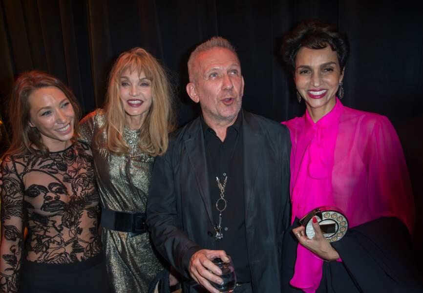 Laura Smet, Arielle Dombasle, Jean-Paul Gaultier et Farida Khelfa-Seydoux