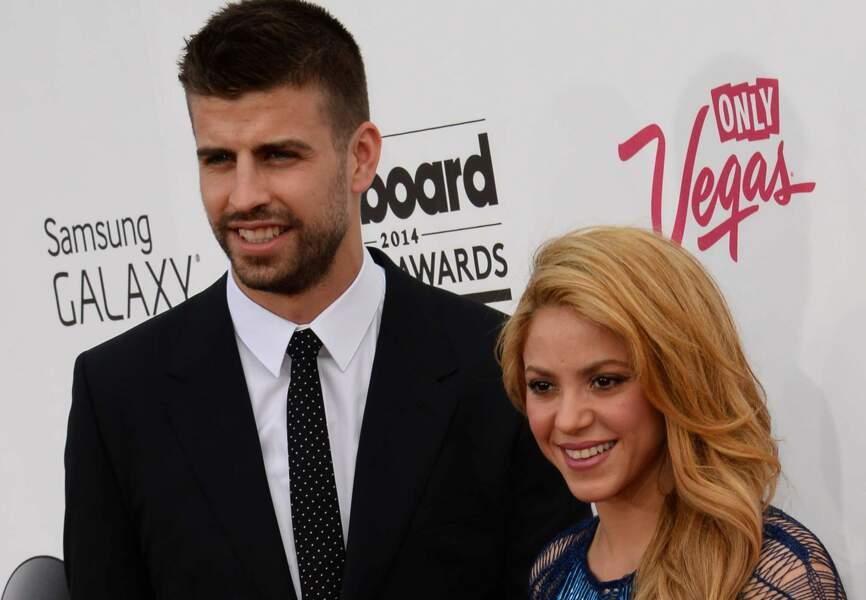 Gérard Piqué (FC Barcelone) et Shakira