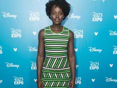 Look - Les rayures folles de Lupita Nyong'o