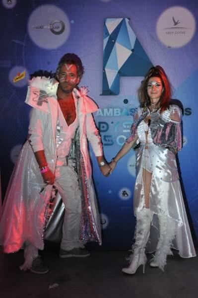 Les organisateurs de la soirée des Ambassadeurs : Nicolas et Sophie Levy