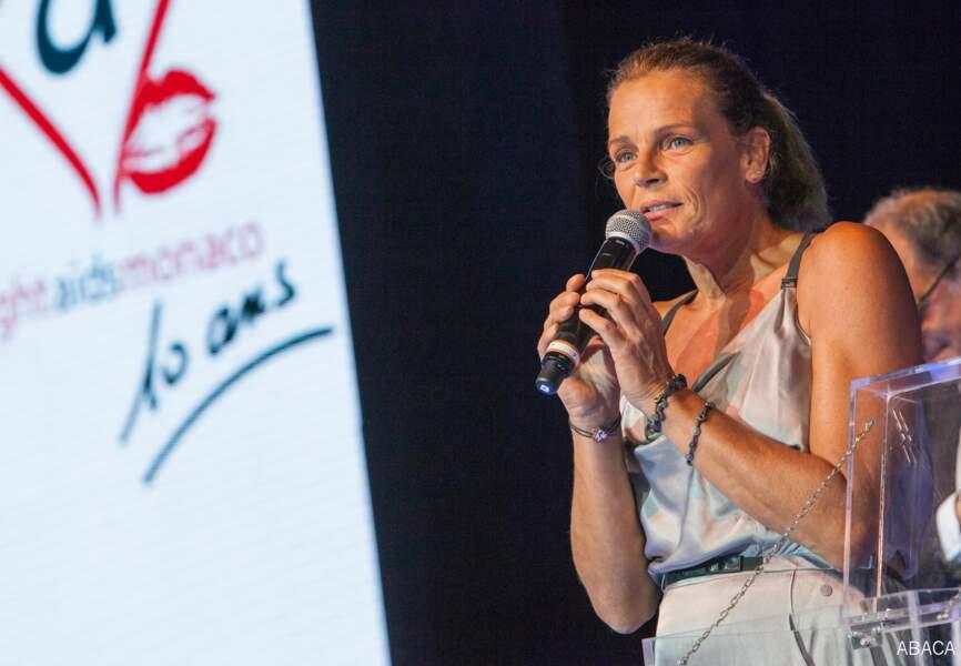 Beaucoup d'émotions pour Stéphanie de Monaco, très investie dans le projet
