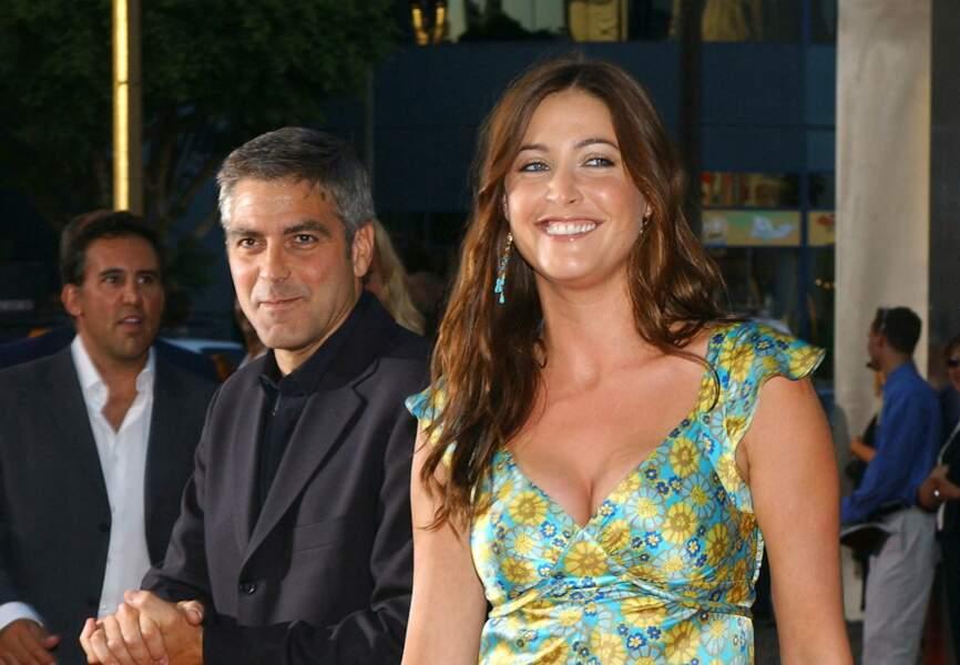En 2000, George fréquente ensuite le mannequin britannique Lisa Snowdon, rencontrée sur le tournage d'une publicité