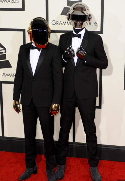 Daft Punk, grands gagnants de la soirée.