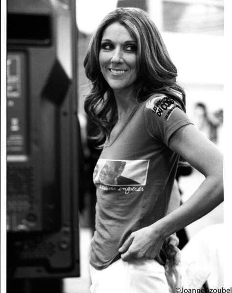 """""""Un souvenir ahurissant ! En 2008, Céline Dion n'est venue qu'un seul soir. Cette fille, c'est le rock en personne"""""""