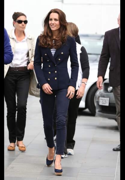 Look casual chic en Zara, ME+EM et chaussures Stuart Weitzman