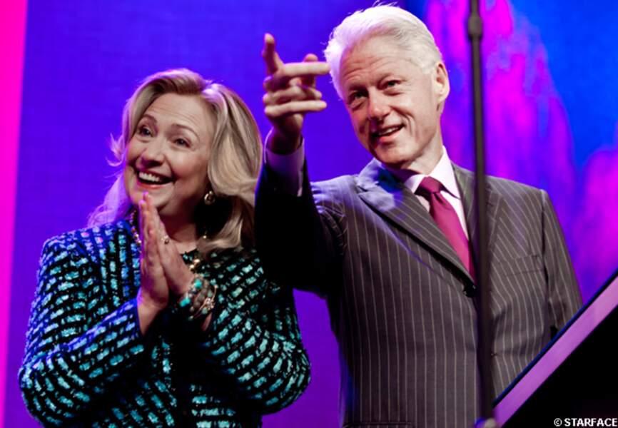 Hillary et Bill Clinton
