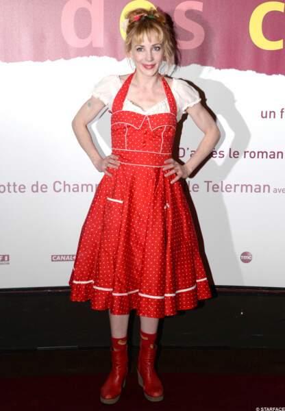 Julie Depardieu aime le style bavarois