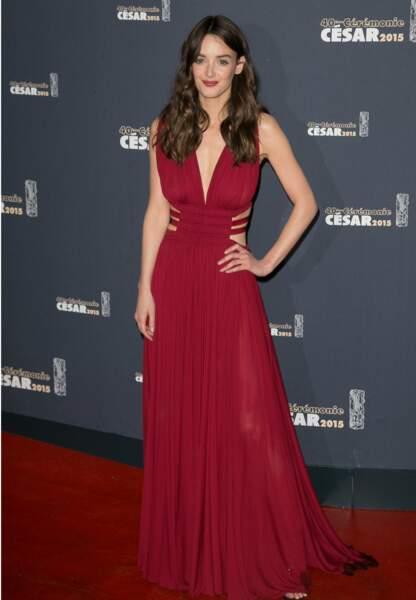 Charlotte Lebon, nominée pour le meilleur second rôle féminin dans Yves Saint Laurent