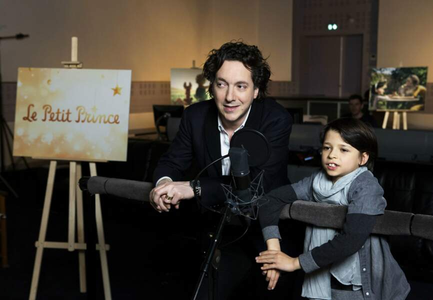 La France, pour le jeune Andrea Santamaria, ici au côté de Guillaume Gallienne