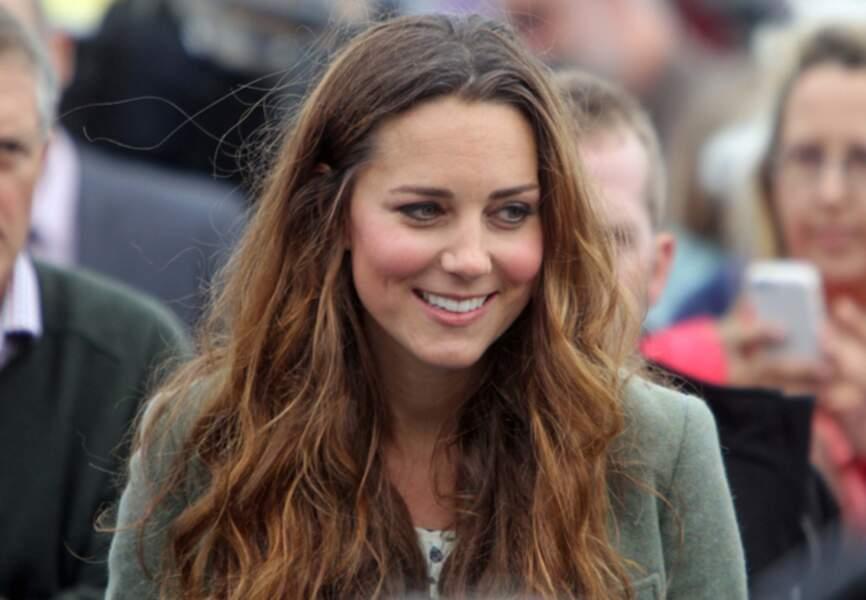 Kate laisse pousser ses cheveux