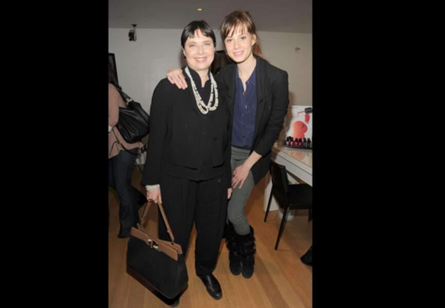 Isabella Rossellini et Elettra Weidemann