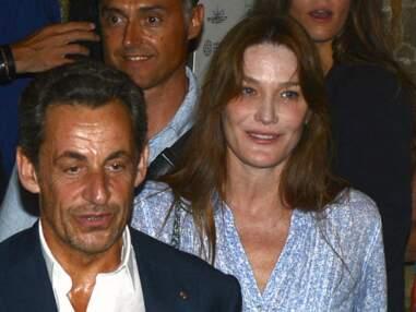 Carla Bruni et Nicolas Sarkozy au Festival de Ramatuelle