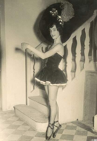 Bernadette Lafont jeune danseuse