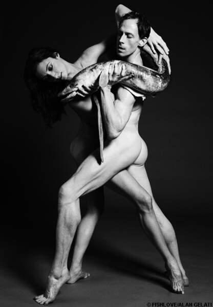 Christina Arestis and Edward Watson