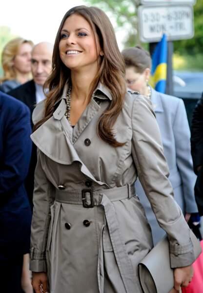 Madeleine de Suède en avril 2012