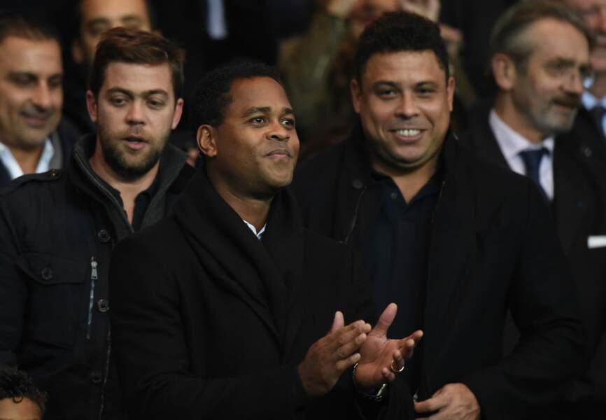 les anciens footballeurs Ronaldo et Patrick Kluivert