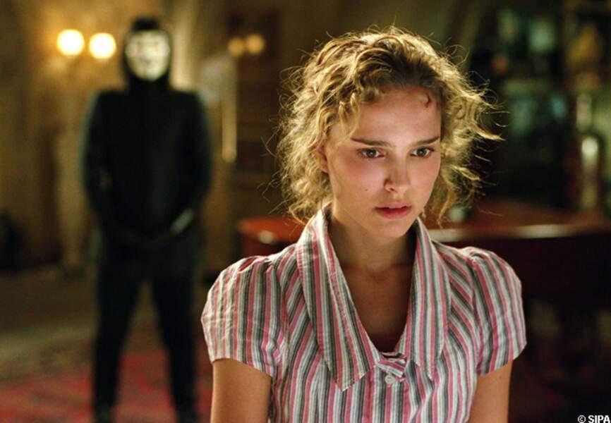 Natalie Portman dans V pour Vendetta